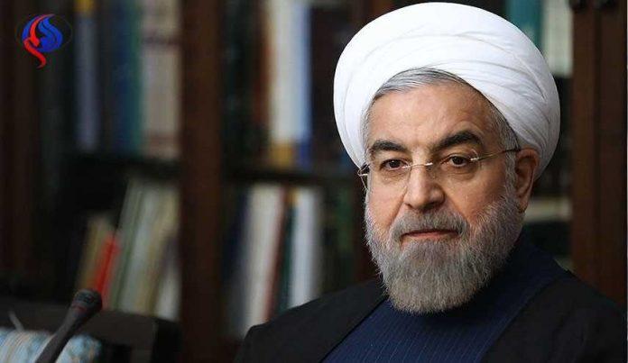 الرئيس الايراني يدين الهجوم الاميركي على سوريا