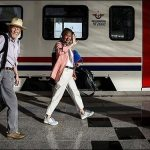 """قطار """"الف ليلة وليلة"""""""