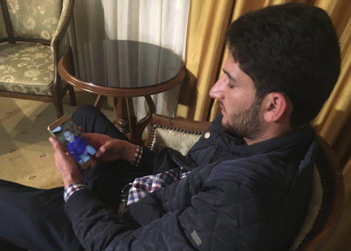 مرد ضد شیمیایی سوریه