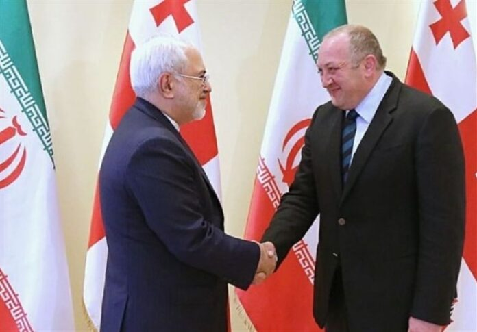 Georgia Interested in Promotion of Ties with Iran: President