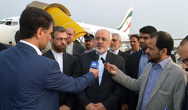 وزير الخارجية الايرانية في العاصمة التركمانية