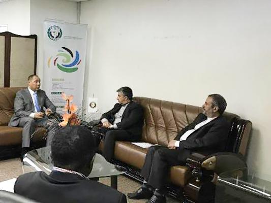 ايران تعتعزم تمتين علاقاتها مع المؤسسات الافريقية
