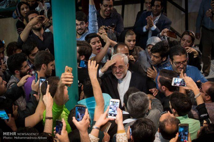 ظريف .. مدينيون للشعب الايراني الذي حافظ على أمن ايران -2