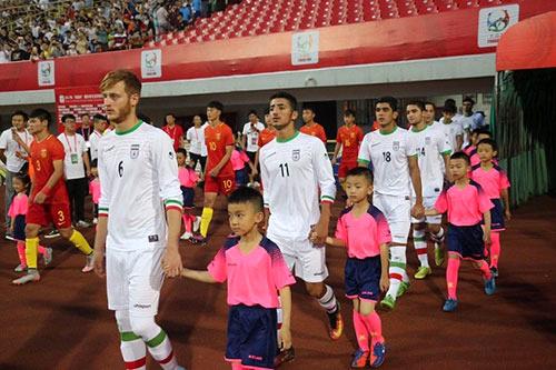 منتخب ايران للناشئين بكرة القدم يهزم نظيره الصيني