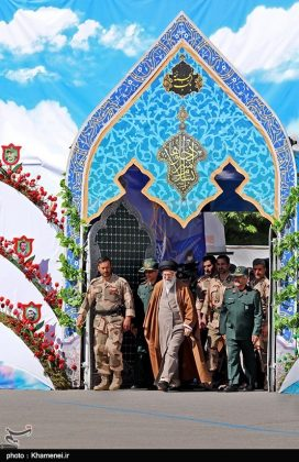 1-Leader Warns against Enemy Plots to Disrupt Iran's Security