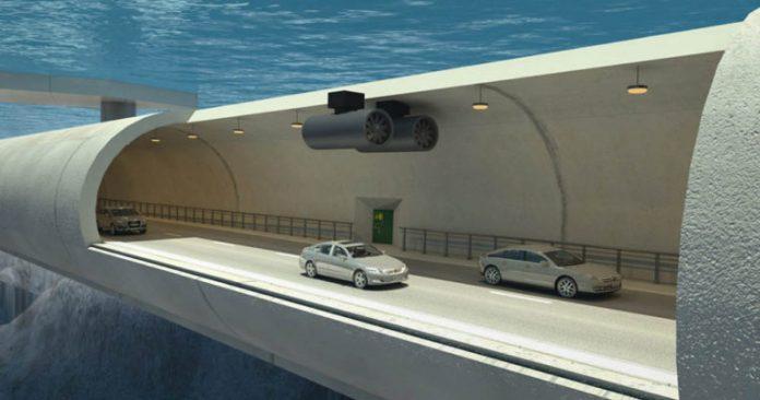 نروژ جاده زیر آب می سازد