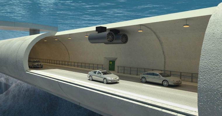 نروژ جاده زیر آب می سازد1