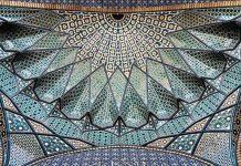 زیر سقف مساجد ایرانی