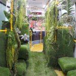 «اتوبوس جنگلی» در تایوان مسافران را شگفت زده کرد