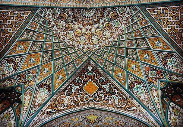زیر سقف مساجد ایرانی10