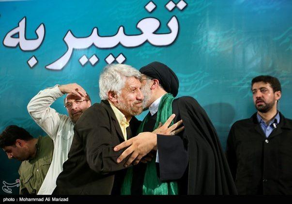 المرشح رئيسي بين أنصاره في طهران 10