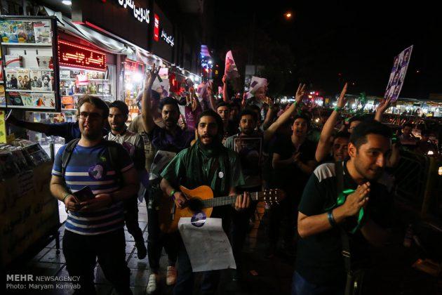 طهران .. الليلة الاخيرة للحملة الانتخابية الرئاسية10