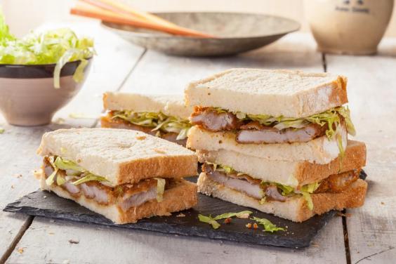 ژاپن - «ساندویچ کاتسو» (Katsu-sando)