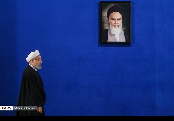 اول اطلالة صحفية للرئيس روحاني بعد فوزه بولاية ثانية10