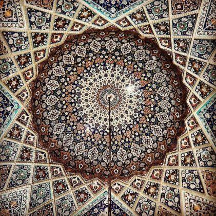 زیر سقف مساجد ایرانی11