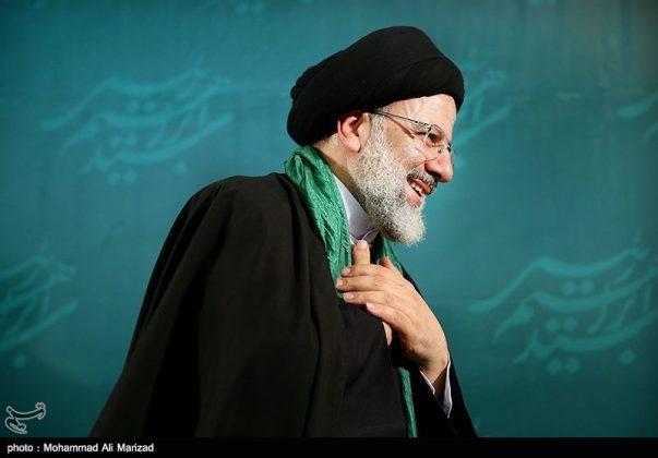 المرشح رئيسي بين أنصاره في طهران 11