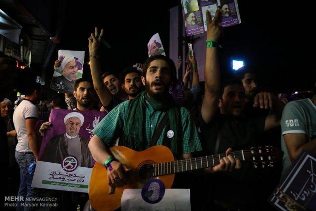 طهران .. الليلة الاخيرة للحملة الانتخابية الرئاسية11