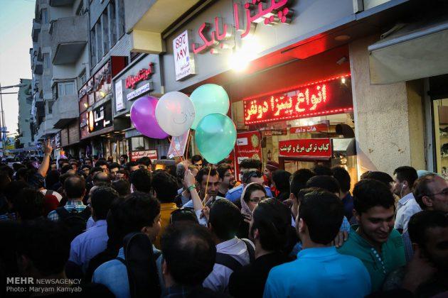طهران .. الليلة الاخيرة للحملة الانتخابية الرئاسية12