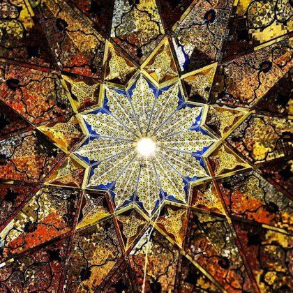 زیر سقف مساجد ایرانی13