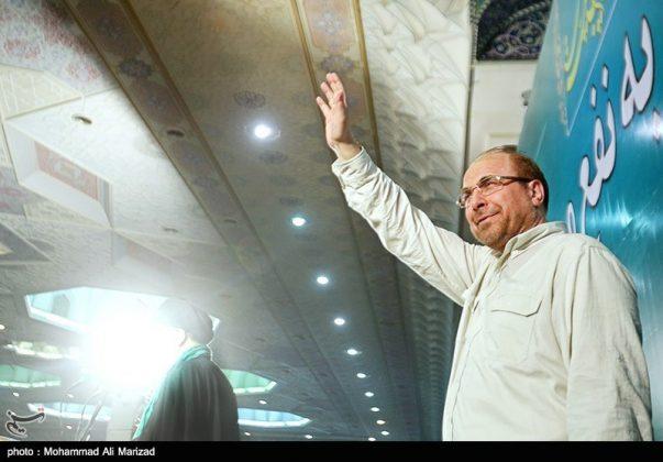 المرشح رئيسي بين أنصاره في طهران 13