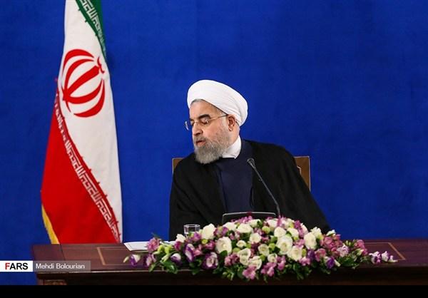 اول اطلالة صحفية للرئيس روحاني بعد فوزه بولاية ثانية13