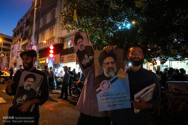 طهران .. الليلة الاخيرة للحملة الانتخابية الرئاسية14
