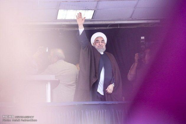 حسن روحاني في ضيافة أهالي مدينة أهواز 155