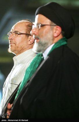 المرشح رئيسي بين أنصاره في طهران 15