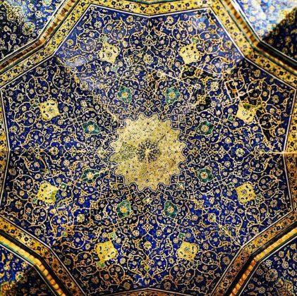زیر سقف مساجد ایرانی16