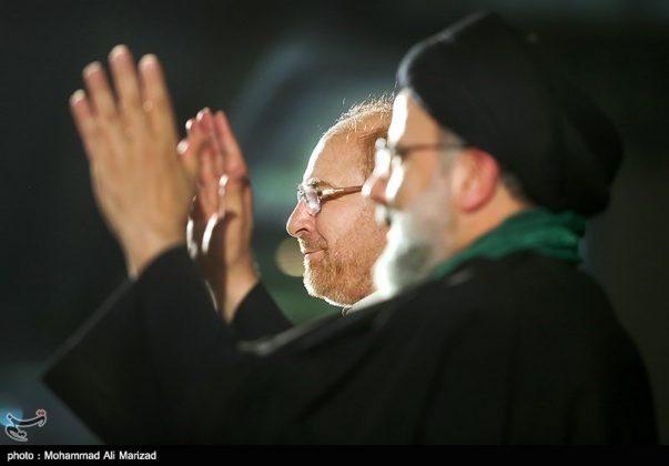 المرشح رئيسي بين أنصاره في طهران 16