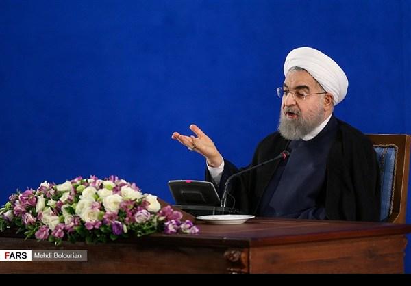 اول اطلالة صحفية للرئيس روحاني بعد فوزه بولاية ثانية16
