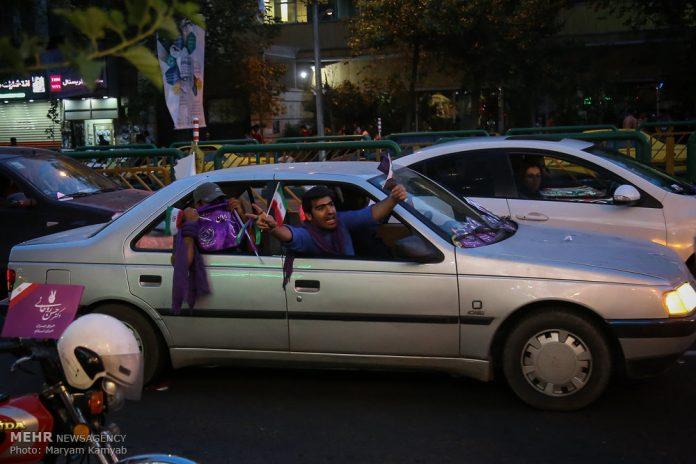 طهران .. الليلة الاخيرة للحملة الانتخابية الرئاسية