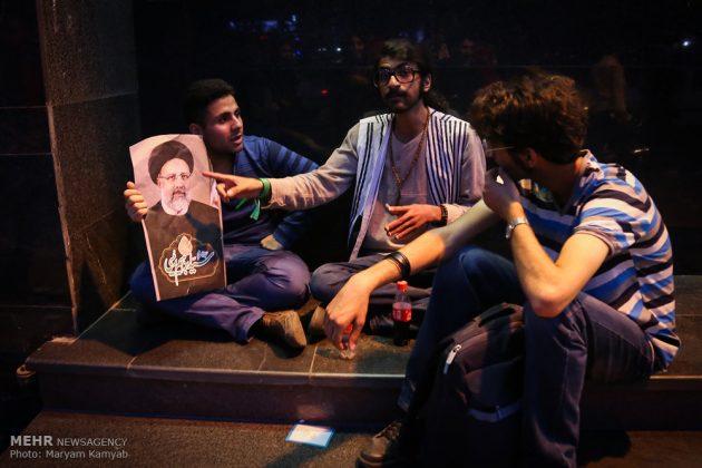 طهران .. الليلة الاخيرة للحملة الانتخابية الرئاسية18