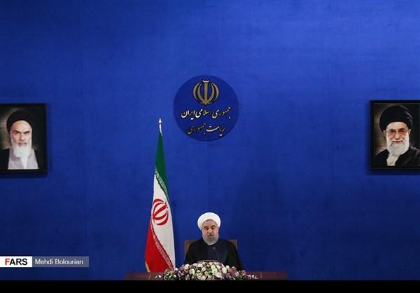 اول اطلالة صحفية للرئيس روحاني بعد فوزه بولاية ثانية18