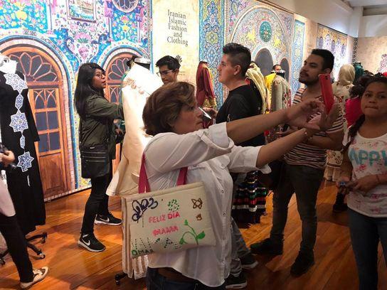 """ايران تشارك في فعاليات معرض """"الثقافات الصديقة"""" في المكسيك 18"""