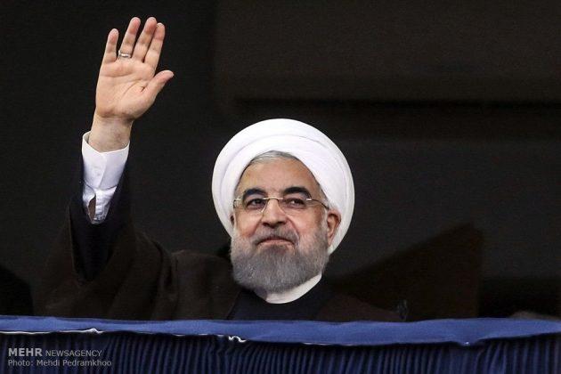 حسن روحاني في ضيافة أهالي مدينة أهواز 19