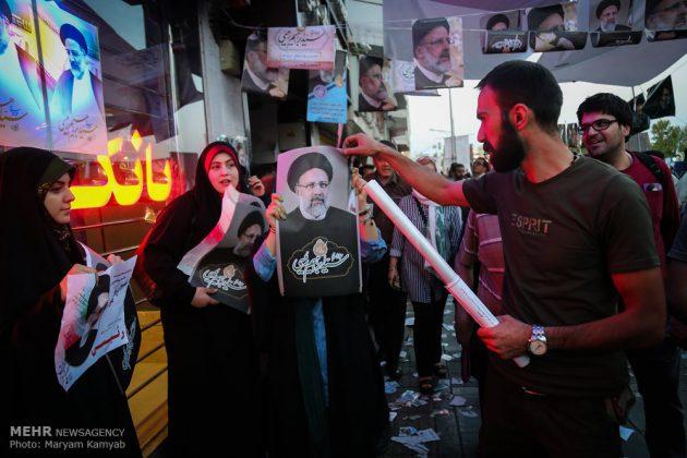 طهران .. الليلة الاخيرة للحملة الانتخابية الرئاسية19