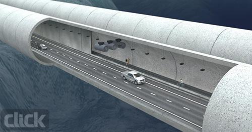 نروژ جاده زیر آب می سازد2