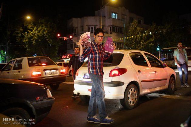 طهران .. الليلة الاخيرة للحملة الانتخابية الرئاسية2