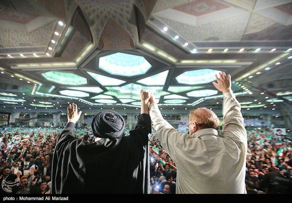المرشح رئيسي بين أنصاره في طهران 20