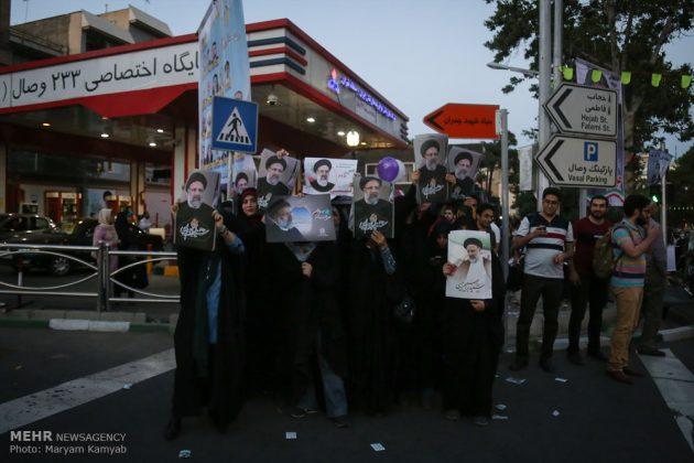 طهران .. الليلة الاخيرة للحملة الانتخابية الرئاسية20