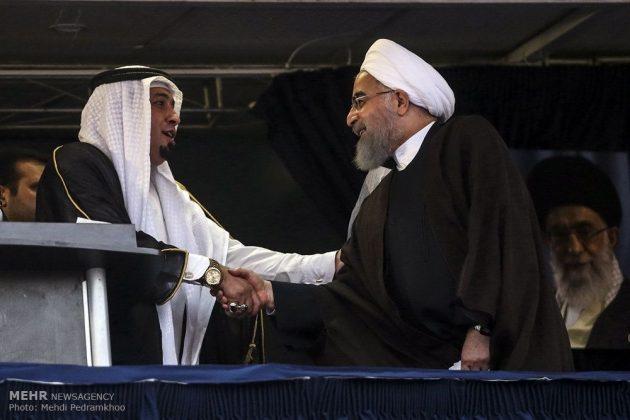 حسن روحاني في ضيافة أهالي مدينة أهواز 21