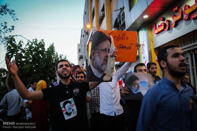 طهران .. الليلة الاخيرة للحملة الانتخابية الرئاسية22