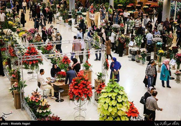 طهران .. معرض الزهور والنباتات