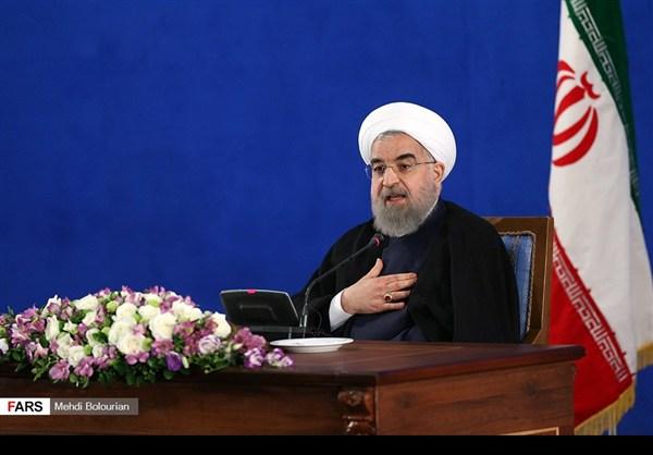 اول اطلالة صحفية للرئيس روحاني بعد فوزه بولاية ثانية26