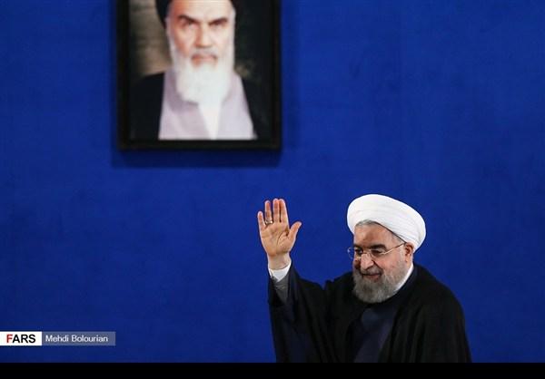 اول اطلالة صحفية للرئيس روحاني بعد فوزه بولاية ثانية28