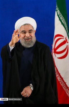 اول اطلالة صحفية للرئيس روحاني بعد فوزه بولاية ثانية29