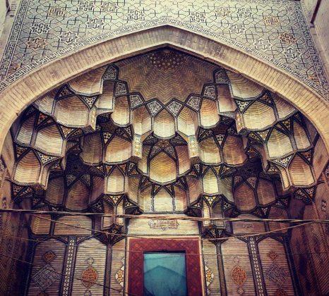 زیر سقف مساجد ایرانی3