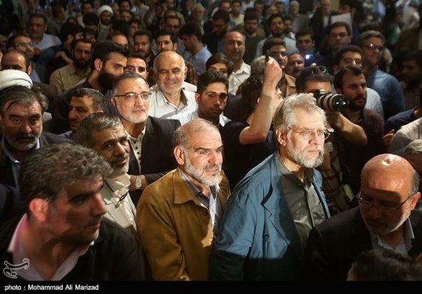 المرشح رئيسي بين أنصاره في طهران 3