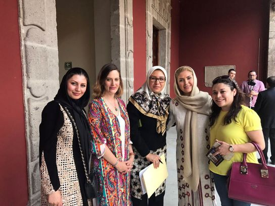 """ايران تشارك في فعاليات معرض """"الثقافات الصديقة"""" في المكسيك 3"""